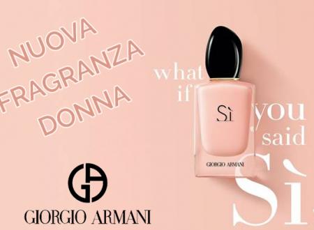 Armani Si Fiori: una nuova fragranza da donna